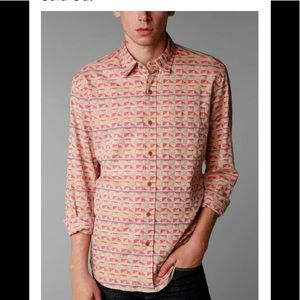 Urban outfitters koto button up collared shirt